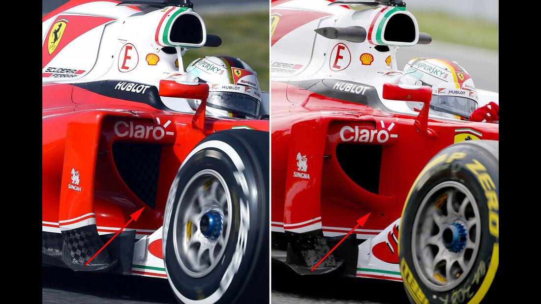 Ferrari - Technik - GP Spanien 2016