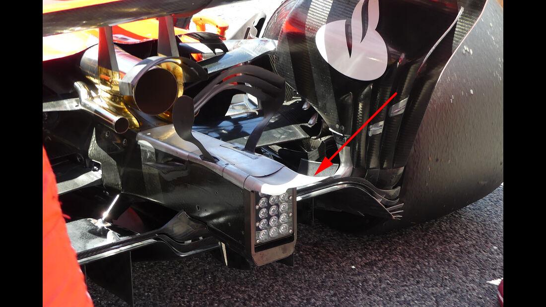 Ferrari - Technik - GP Spanien 2017