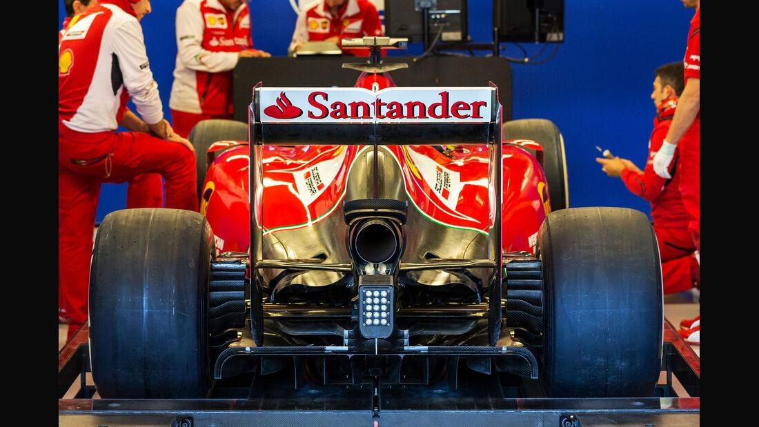 Ferrari - Technik - GP USA/Brasilien 2014
