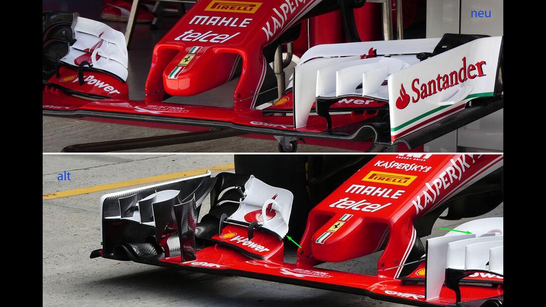 Ferrari - Technik-Update - GP Russland 2016 - Sochi