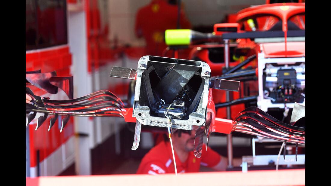 Ferrari - Technik-Upgrades - GP Australien 2018