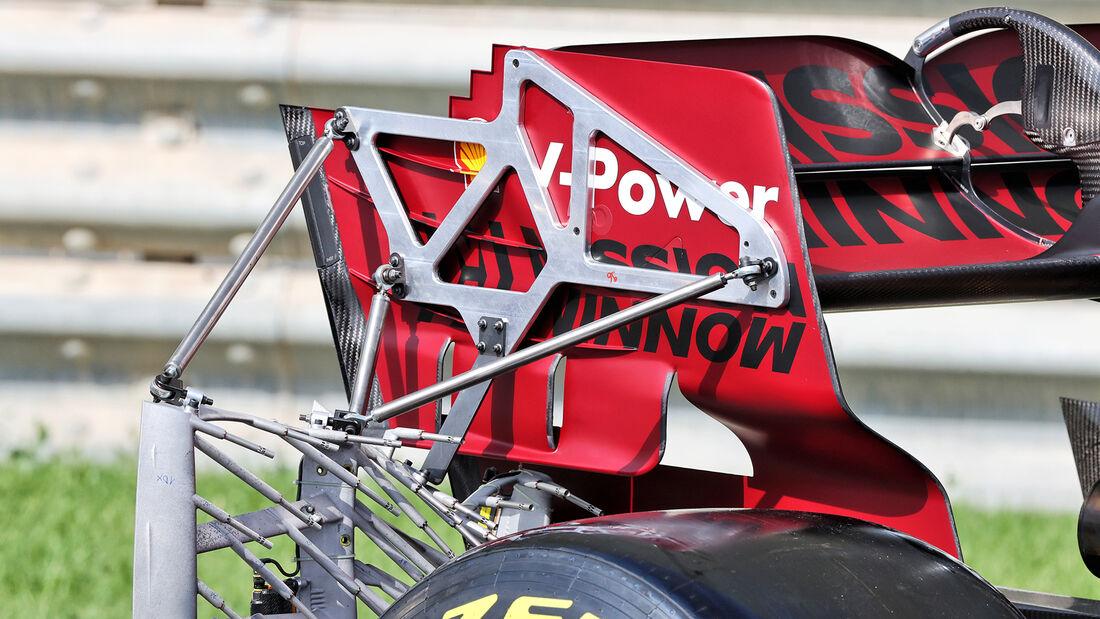 Ferrari - Test - Formel 1 - Bahrain - 12. März 2021