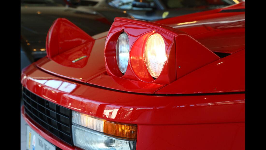 Ferrari Testarossa, Frontscheinwerfer