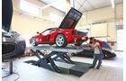 Ferrari Testarossa, Hebebühne, Seitenansicht, Check