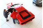 Ferrari Testarossa, Heckansicht, Verkaufsraum
