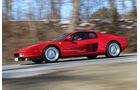 Ferrari Testarossa, Seitenansicht