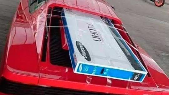 Ferrari Testarossa als Pick-up