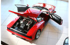 Ferrari Testarossa, von oben, Türen offen