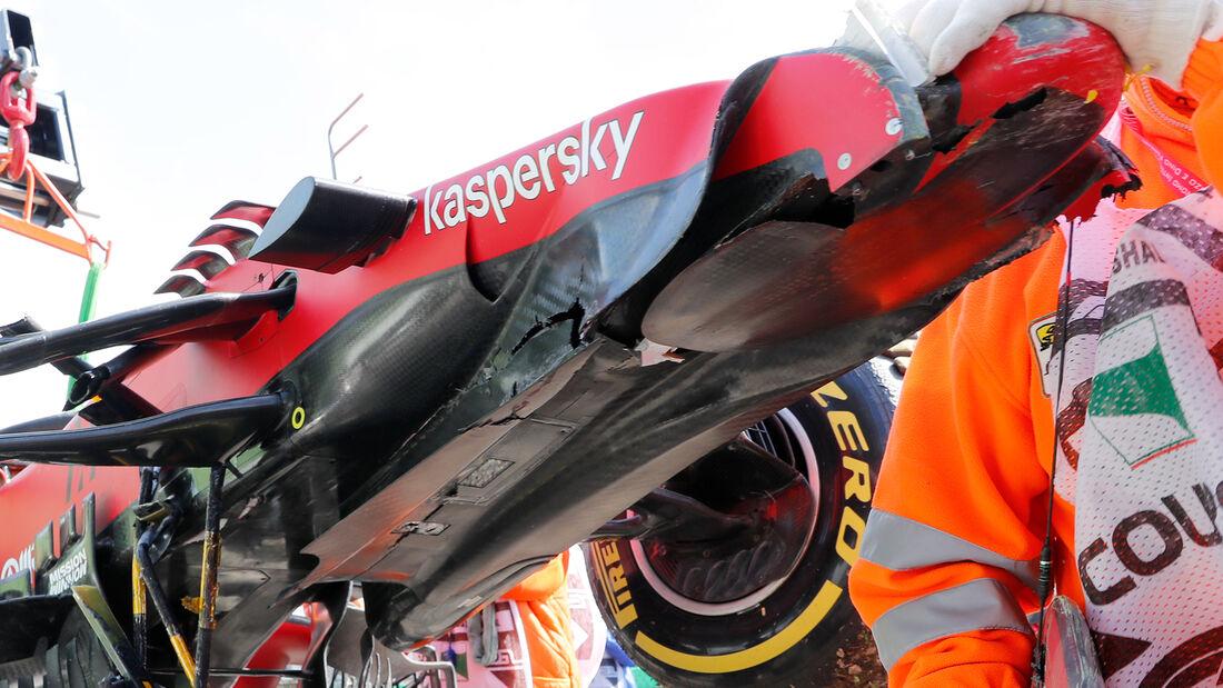 Ferrari - Unfall - Imola - 2021