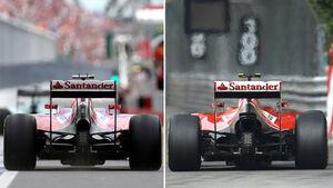 Ferrari - Vergleich 2014