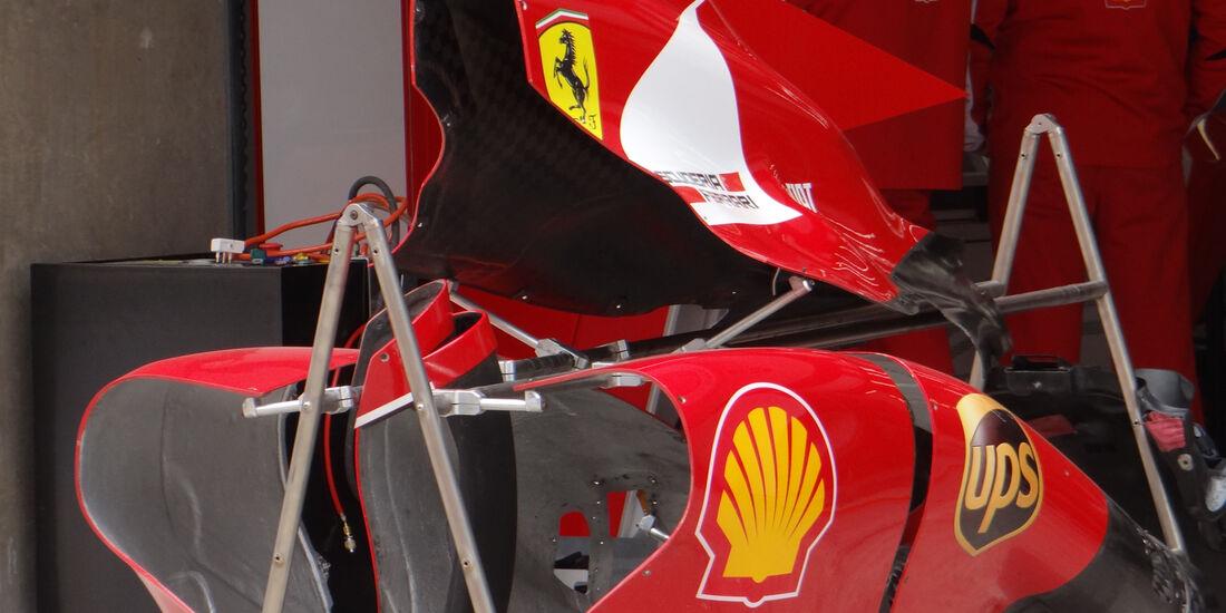 Ferrari Verkleidung - Formel 1 - GP China - 11. April 2013