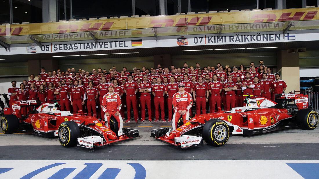 Ferrari - Vettel - Räikkönen - GP Abu Dhabi 2016 - F1
