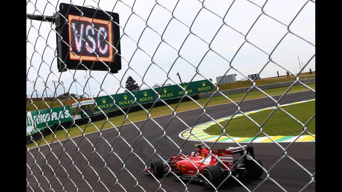 Ferrari - Virtual Safety Car - Formel 1 - GP Brasilien- 7. November 2014
