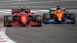 Ferrari vs. McLaren - Bahrain 2021