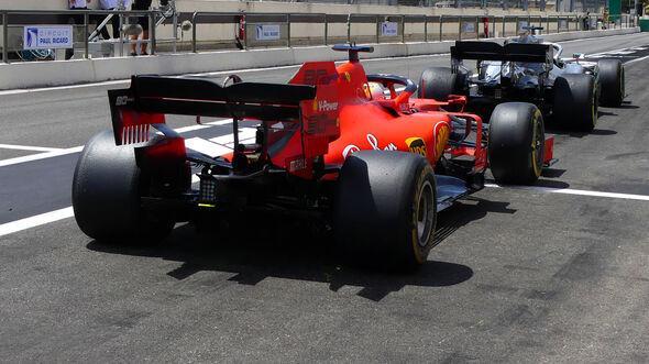 Ferrari vs. Mercedes - GP Frankreich 2019