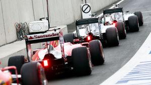 Ferrari vs. Mercedes - GP Österreich 2015