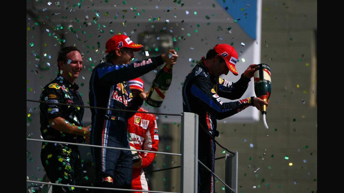 Ferrari vs. Red Bull GP Brasilien 2010