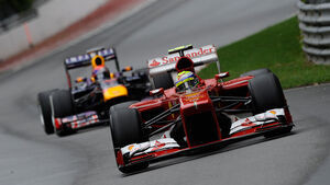 Ferrari vs. Red Bull - GP Kanada 2013