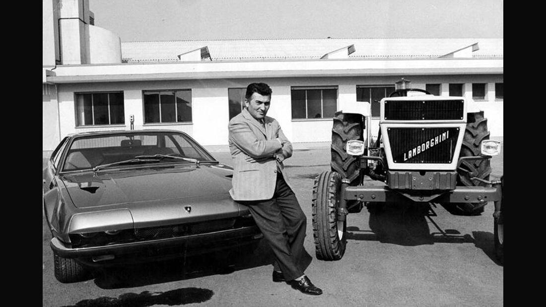 Ferrucio Lamborghini, Traktor, Jalpa