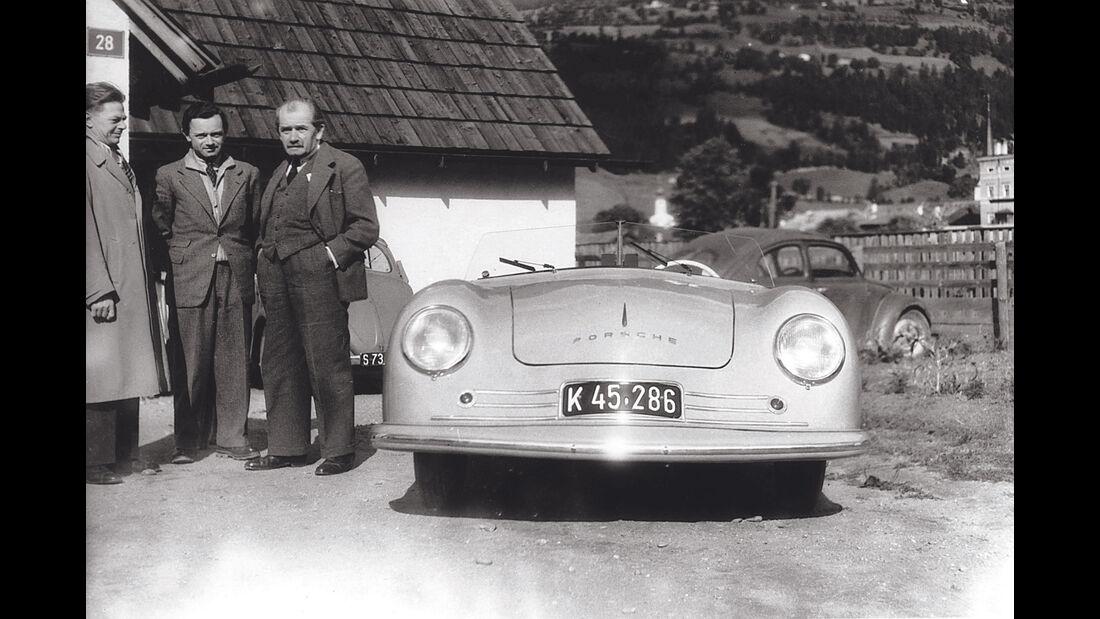 Ferry Porsche, Porsche 356