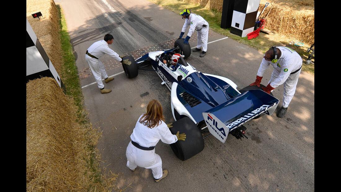 Festival of Speed, Nelson Piquet, Weltmeisterauto