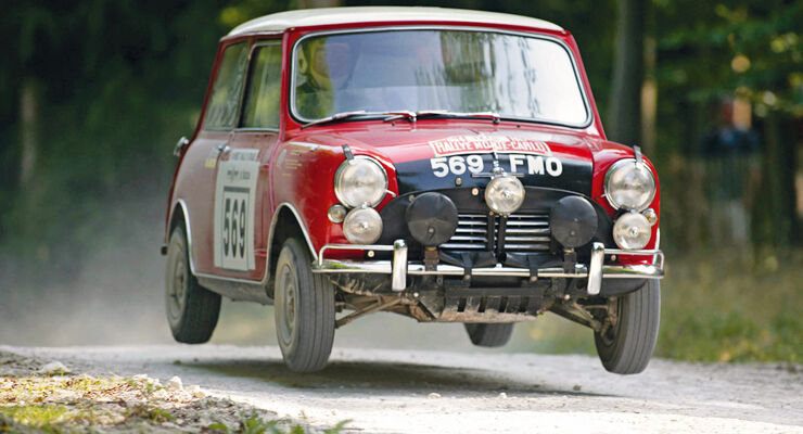 Festival of Speed, Rauno Aaltonen, Mini Cooper S
