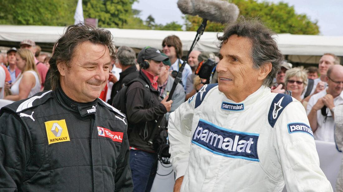 Festival of Speed, René Arnoux, Nelson Piquet
