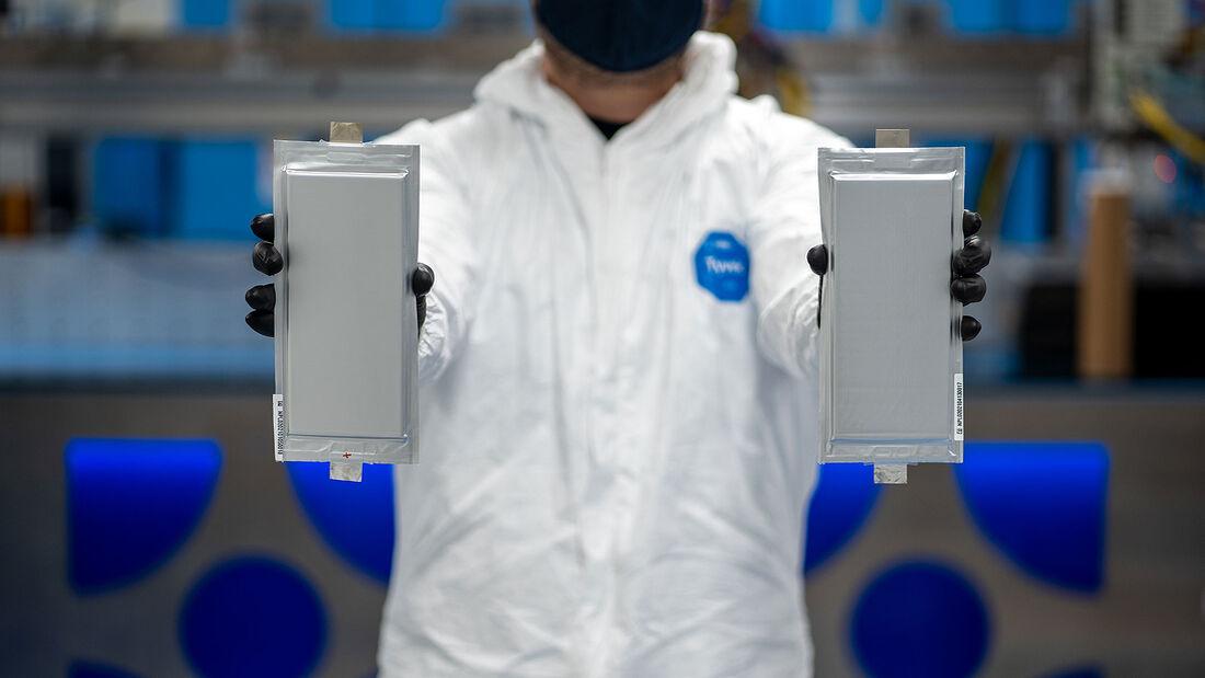Feststoffbatterie Feststoff Akku BMW Ford Solid Power