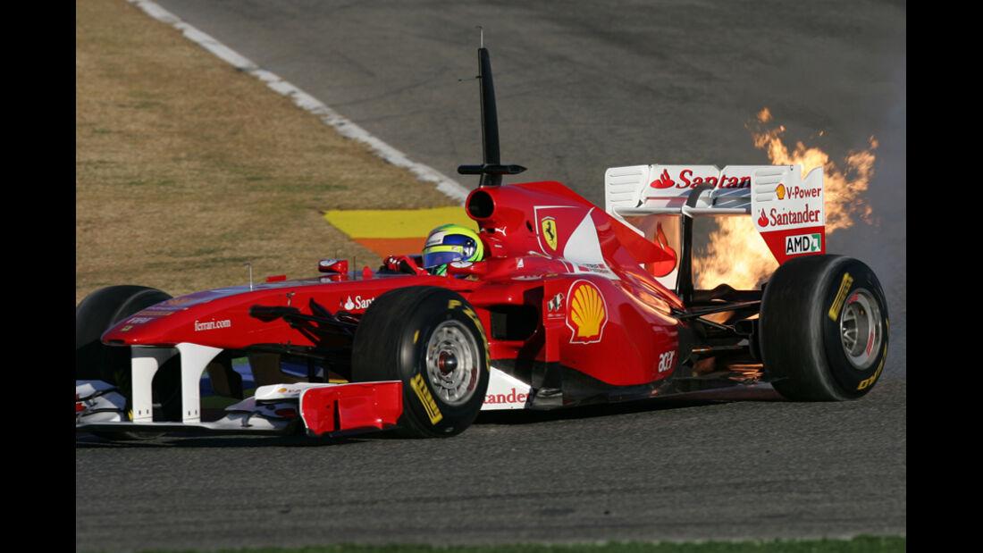 Feuer bei Massa