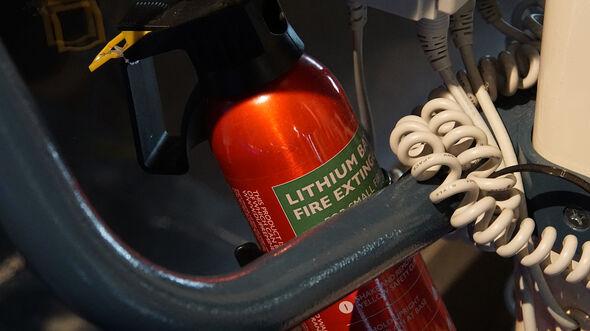 Feuerlöscher Lithiumionen-Batterie