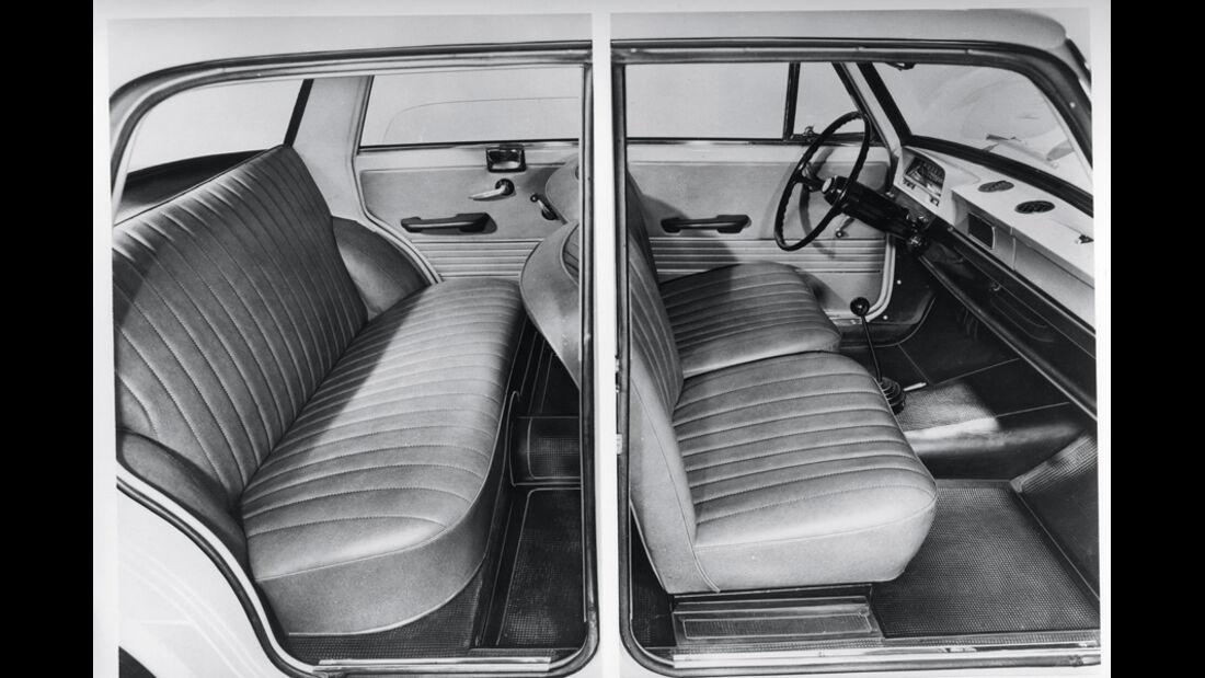 Fiat 1100 R, Sitze