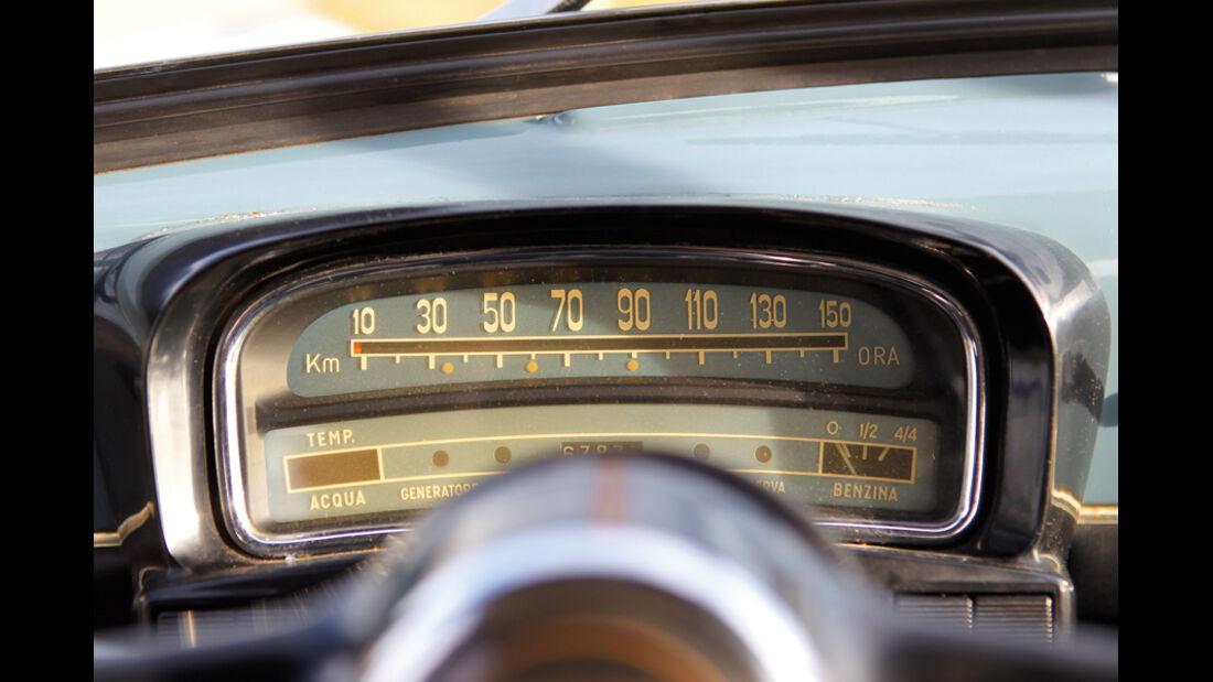 Fiat 1100, Tacho