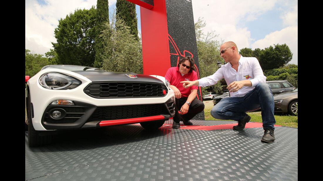 Fiat 124 Abarth Spider, Fahrbericht, 06/2016