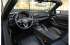 Fiat 124 Spider 1.4 Turbo, Cockpit