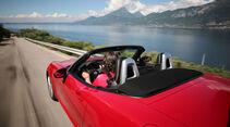 Fiat 124 Spider 1.4 Turbo, Heckansicht