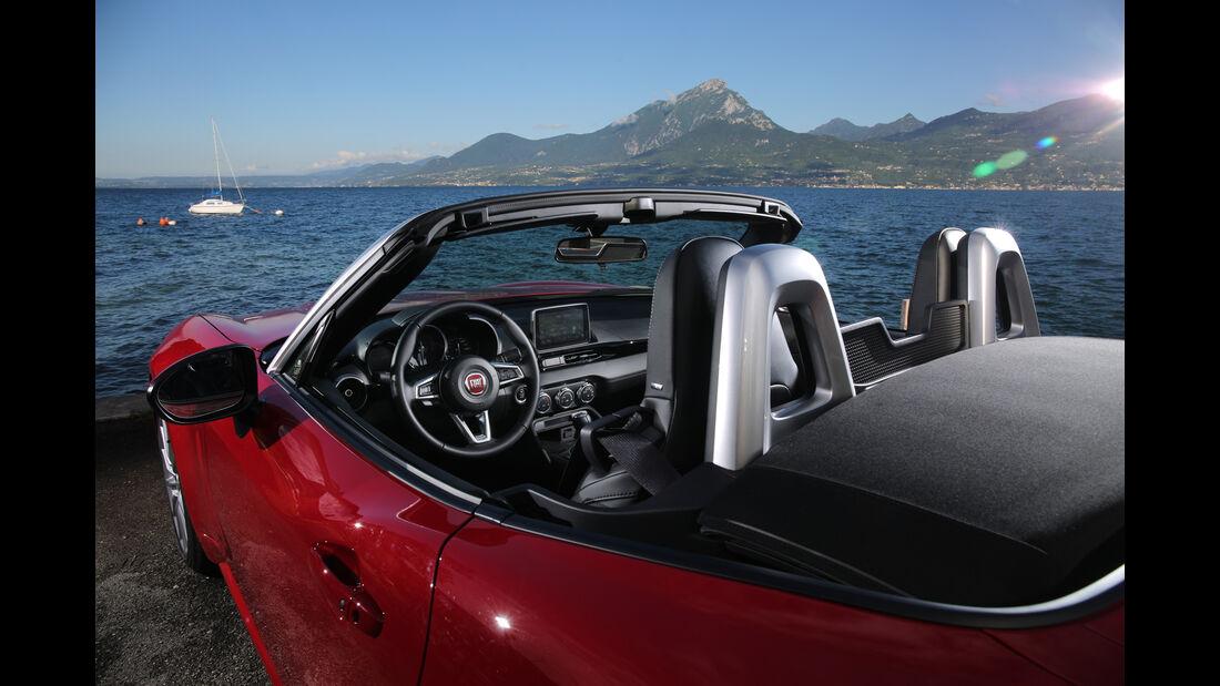 Fiat 124 Spider 1.4 Turbo, Interieur