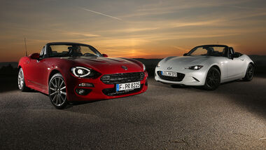 Fiat 124 Spider 1.4 Turbo, Mazda MX-5 G 131, Impression