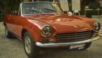 Fiat 124 Spider Amerika Limited Edition