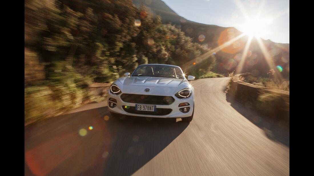 Fiat 124 Spider, Fahrbericht, 02/2016
