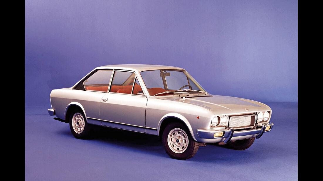 Fiat 124 Sport Coupé, Seitenansicht