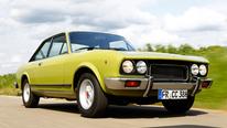 Fiat 124 Sport Coupe (CC), Frontansicht