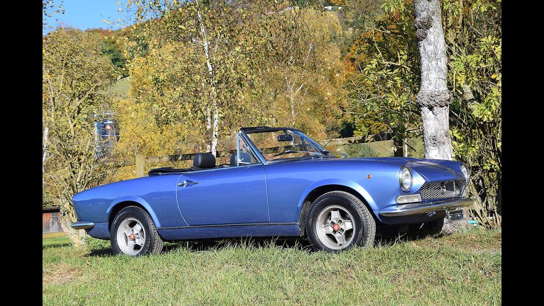 Fiat 124 Sport Spider 1971 Oldtimer Auktion Toffen