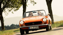 Fiat 124 Sport Spider, Frontansicht