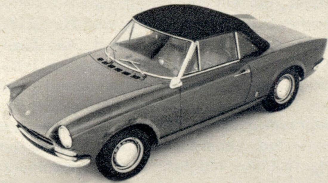 Fiat, 125 Sport, Spider, IAA 1967