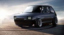 Fiat 126 - Durci Photoshop Studie