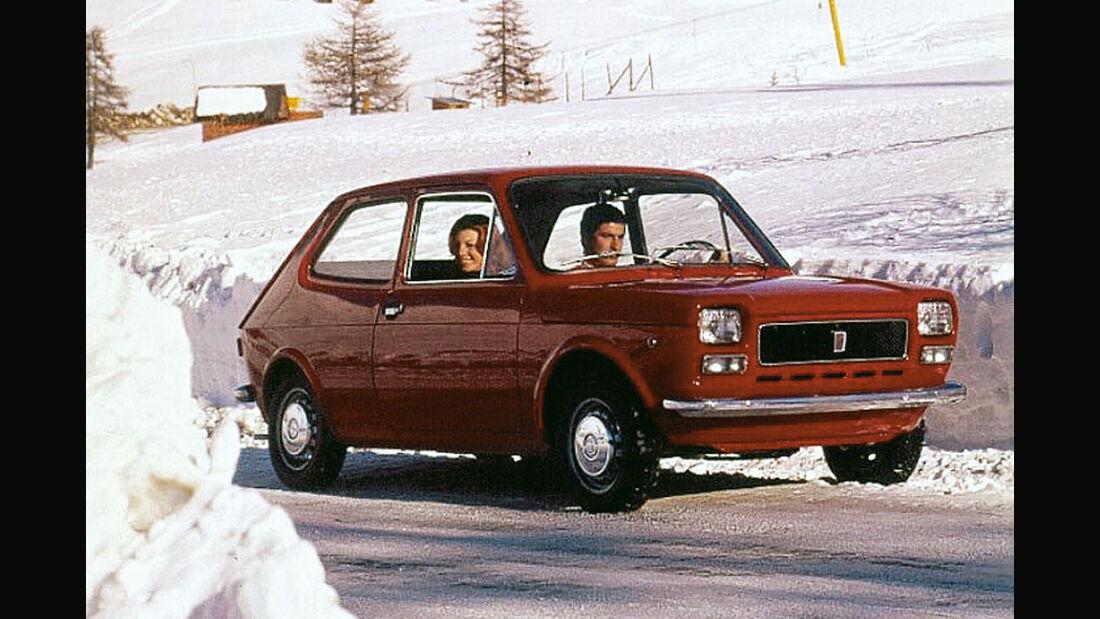 Fiat 127, Seitenansicht