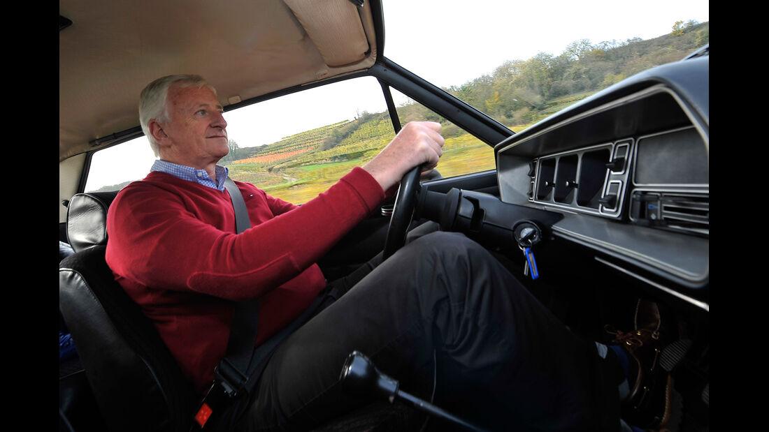 Fiat 131 Abarth, Ed Goedert, Cockpit