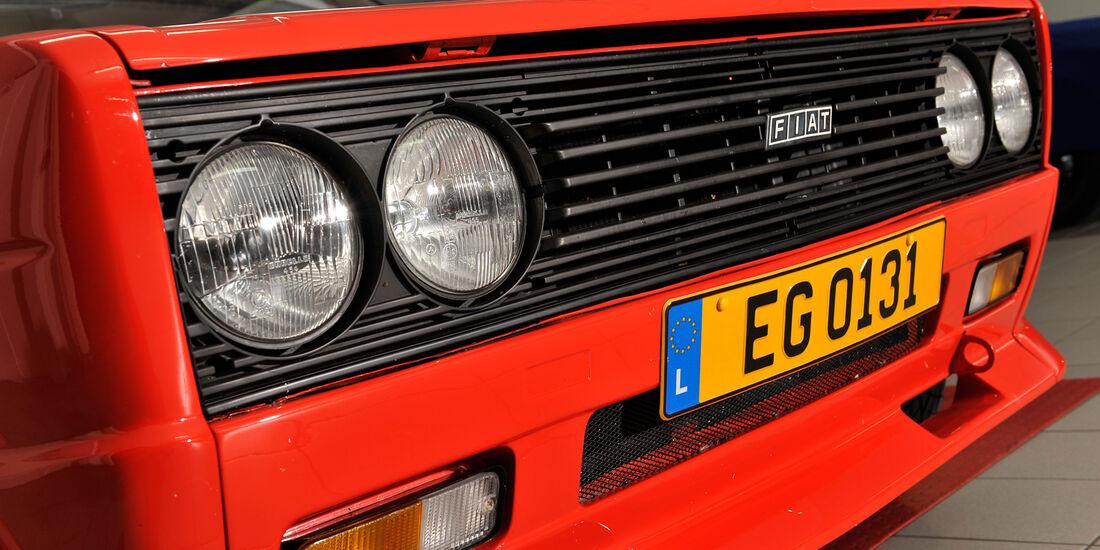 Fiat 131 Abarth, Kühlergrill