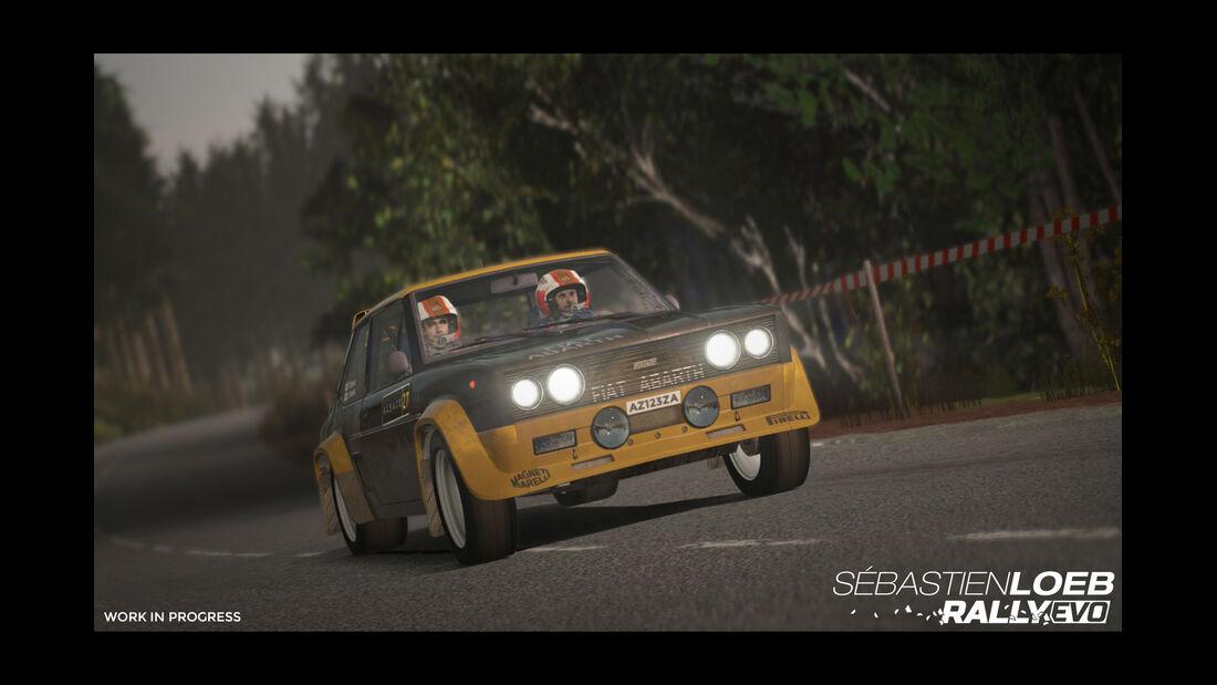 Fiat 131 Abarth Rally - Screenshot - Sebastien Loeb Rally Evo
