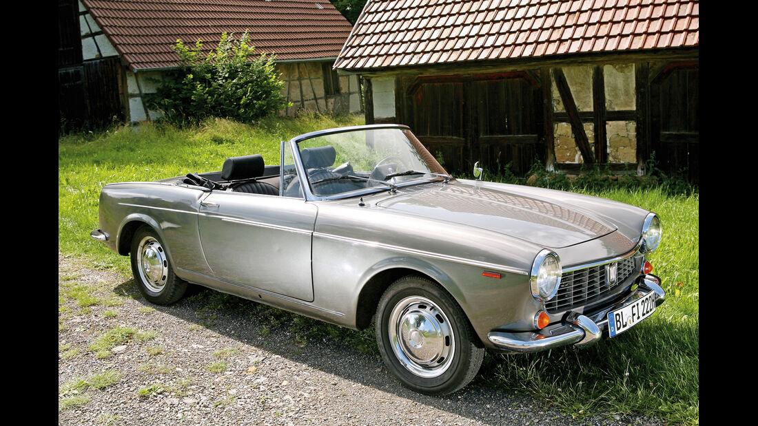 Fiat 1500 Cabriolet, Seitenansicht